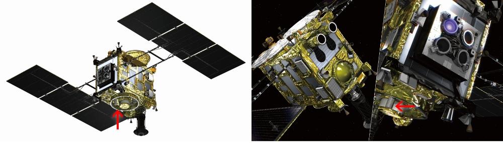 小惑星探査機「はやぶさ2」搭載ヘリカルアンテナ