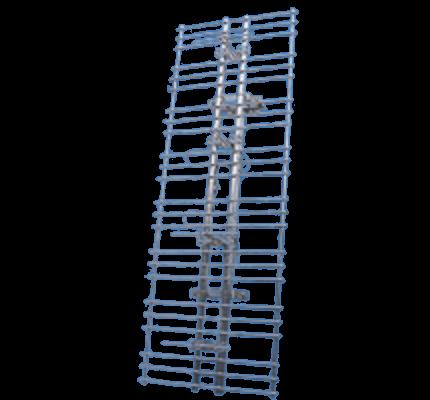 反射板付 4段スタックダイポールアンテナ