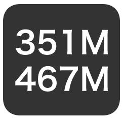 351/467MHz
